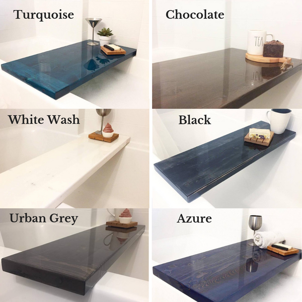Pine Resin Bathtub Tables
