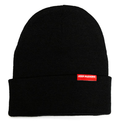 Keep Pushing Beanie (3 colors)