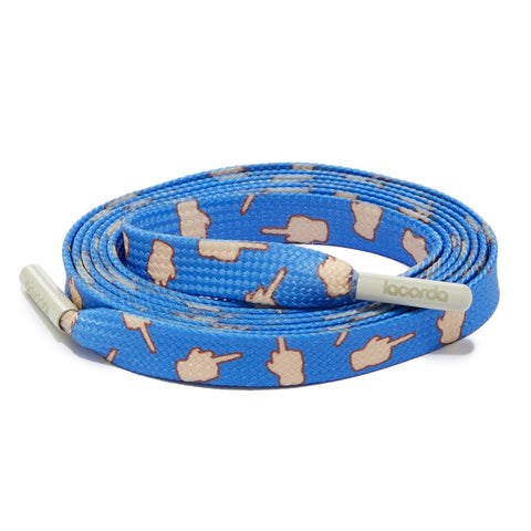 """Flip Off"" Shoelace Belt"
