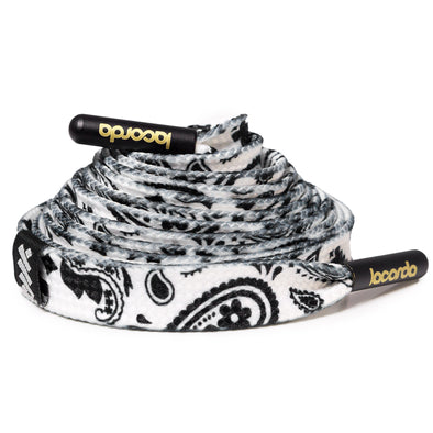 Paisley Shoelace Belt