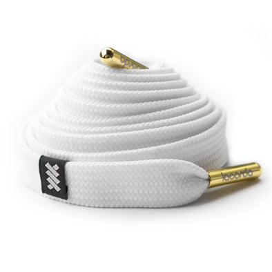 OG Shoelace Belt - White