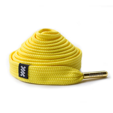 Lacorda Threads OG Yellow Shoelace Belt