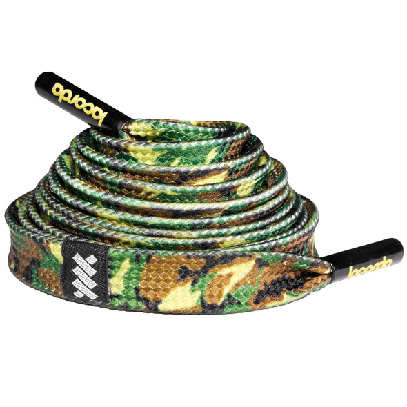 Army Camo Shoelace Belt