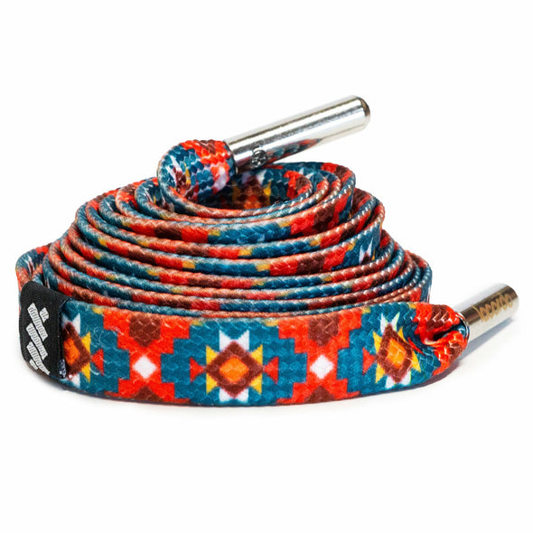 The Aztec Shoelace Belt