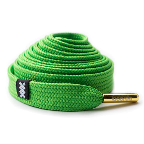 Lacorda Threads OG Green Shoelace Belt