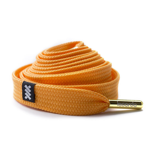 Lacorda Threads OG Orange Shoelace Belt