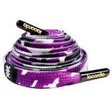 Purple Camo Shoelace Belt