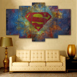 Blue Superman Poster