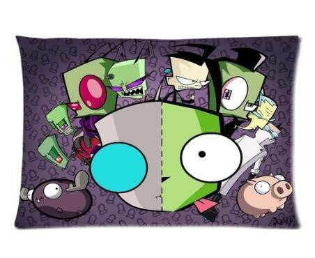 Invader Zim Character Pillow