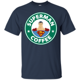 Superman Coffee Shirt