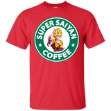 Super Saiyan Coffee Shirt