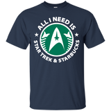 Star Trek And Coffee Shirt