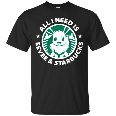 Eevee And Coffee Shirt