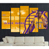 Gold Black Mamba Poster