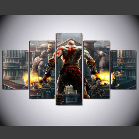 God Of War Battle Poster
