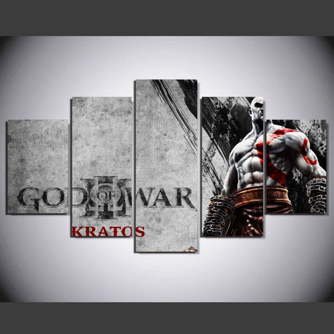 God Of War Kratos Poster