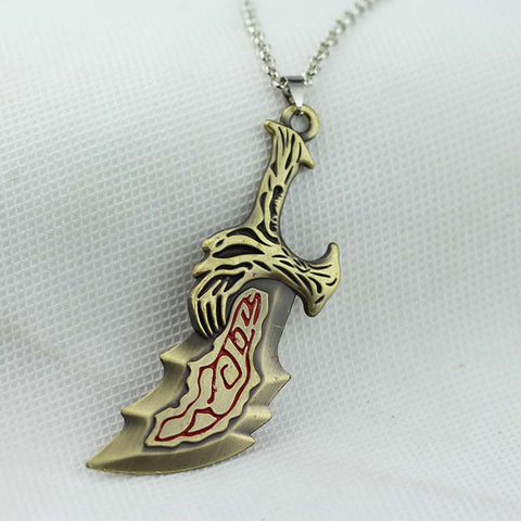 God Of War Sward Necklace