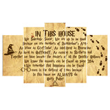 In This House Poster Canvas