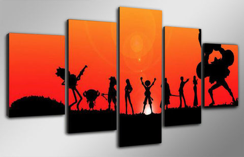 One Piece Sunset Poster