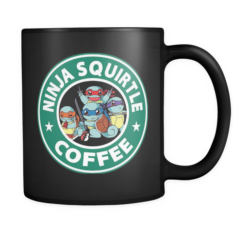 Ninja Squirtle Coffee Mug