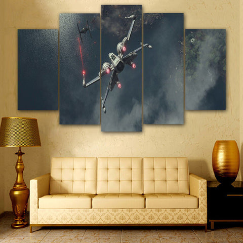 Star Wars Fighter Poster