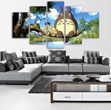 Totoro With Friends Poster