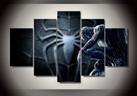Black Spiderman Poster