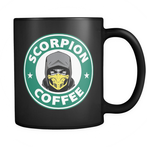 Mortal Kombat Scorpion Mug