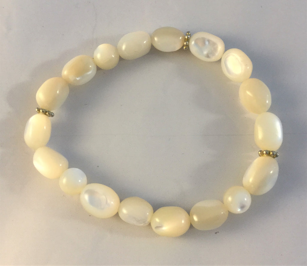 BW10S: Mother of Pearl Bracelet