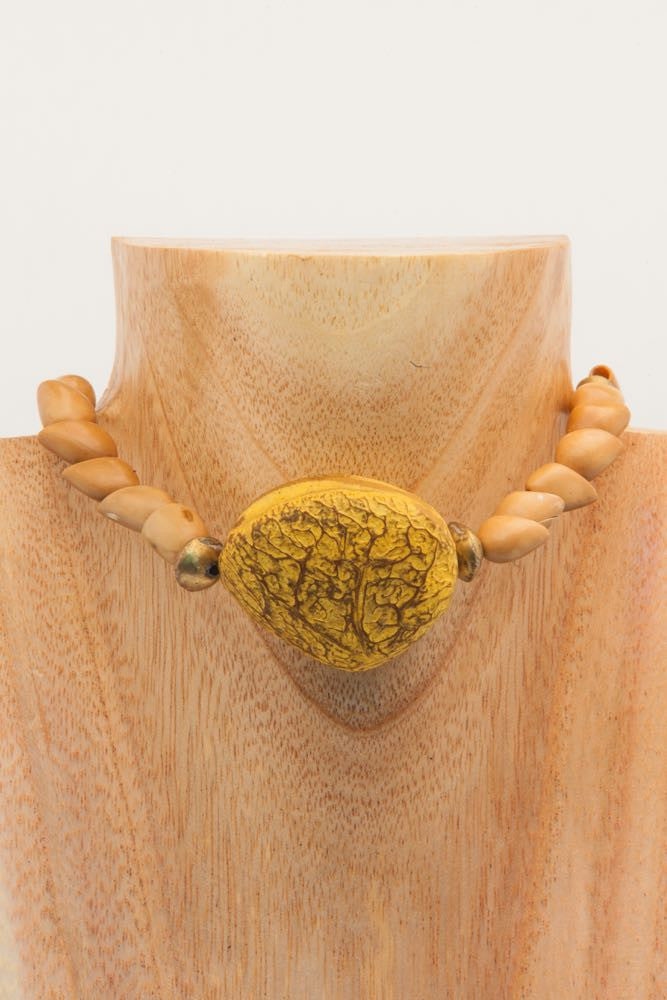 Bibi - African Camel Seed Choker Necklace