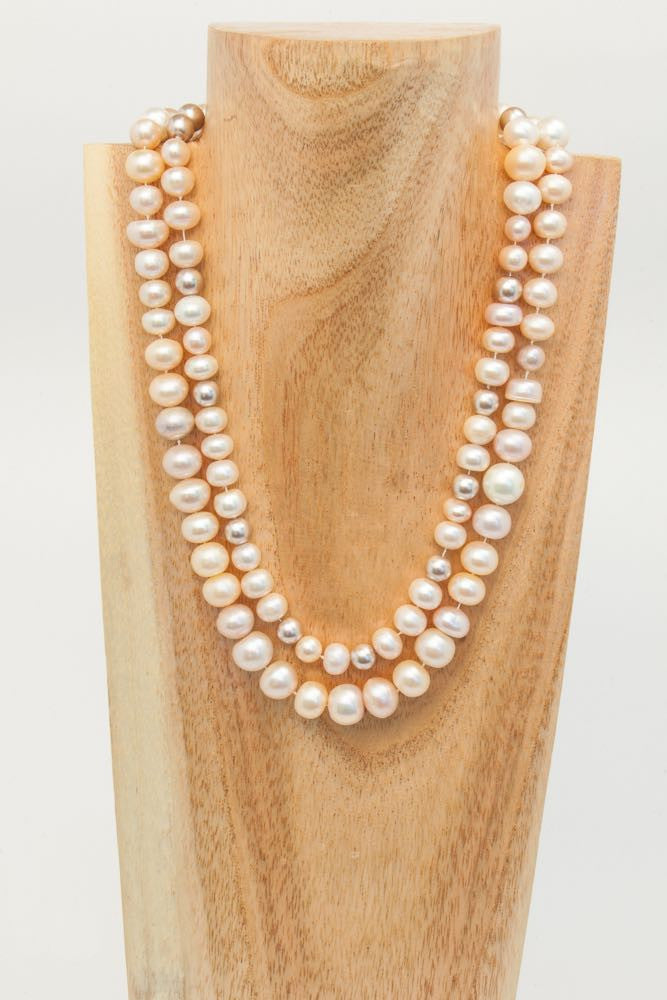 Colette - 2 strand Fresh Water Pearl Necklace