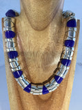 FANTASIA: Sterling and Lapis Choker
