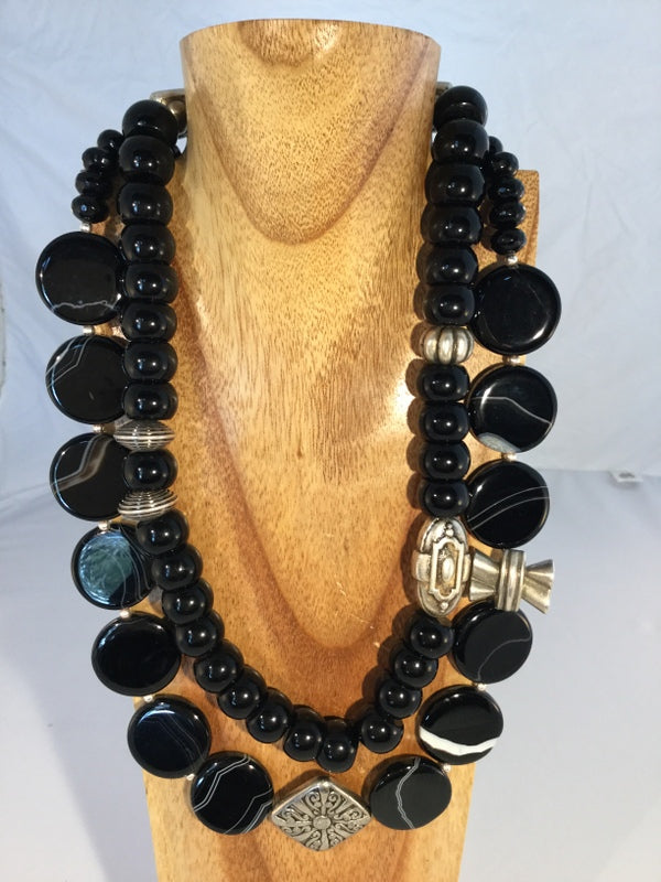 FUN: Black Onyx Necklace