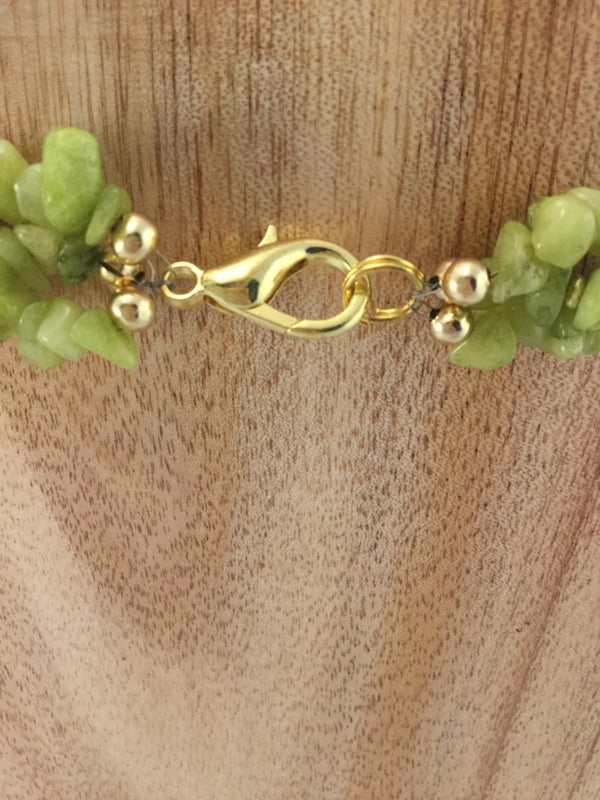 Gold metal lobster clasp