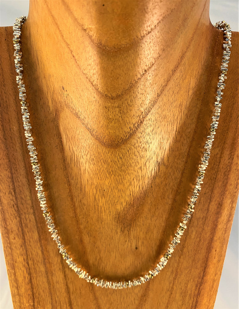 SC23: Sterling & Gold Necklace