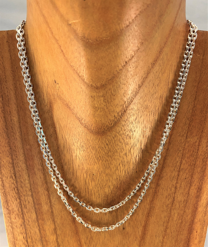 "STN9: 36"" Sterling Chain"