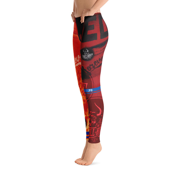 Bull Horn Brand // Forever // RED 01 Leggings