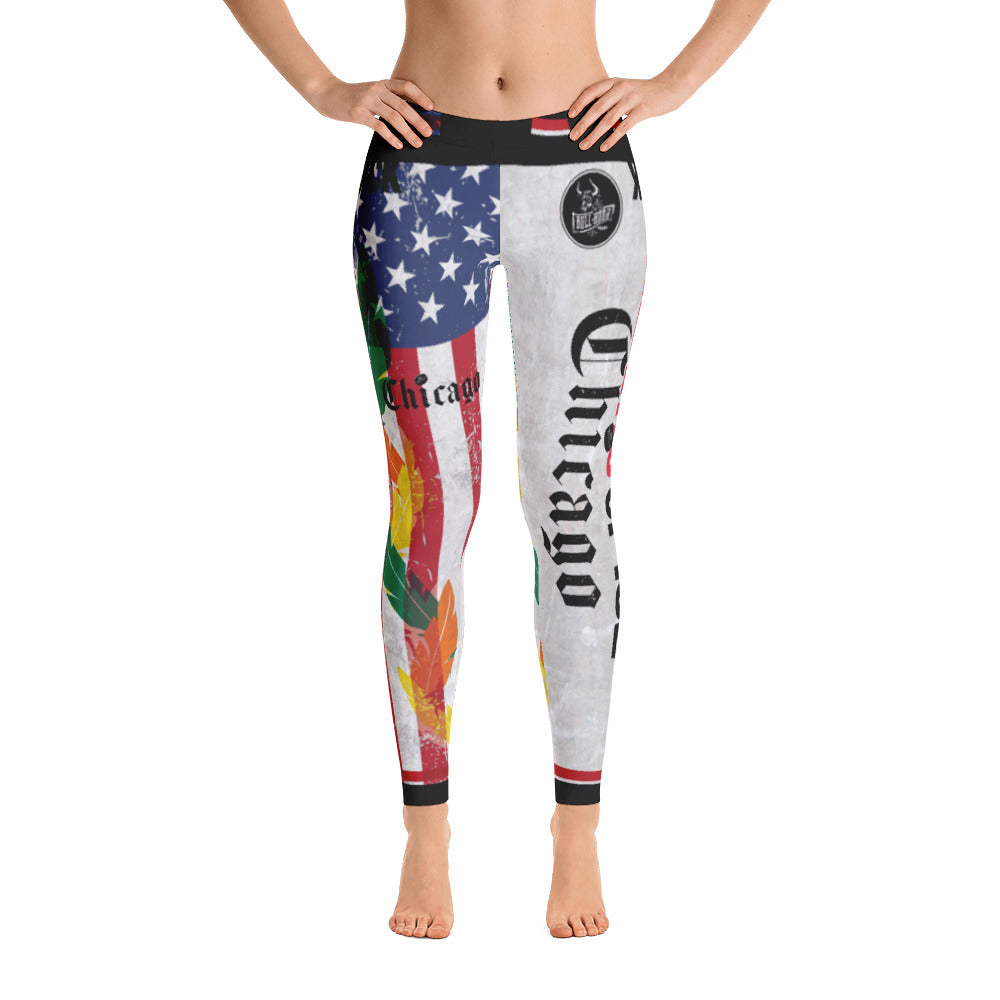 Blackhawks Leggings _ Bull Horn Brand