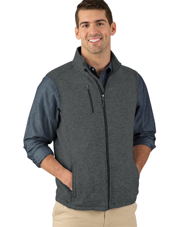 9722 | Men's Pacific Heathered  Vest