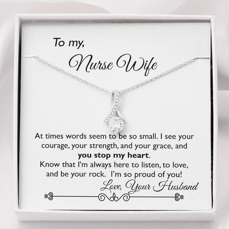 You Stop My Heart ~ Pendant Necklace