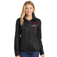 L232  Port Authority® Ladies Sweater Fleece Jacket