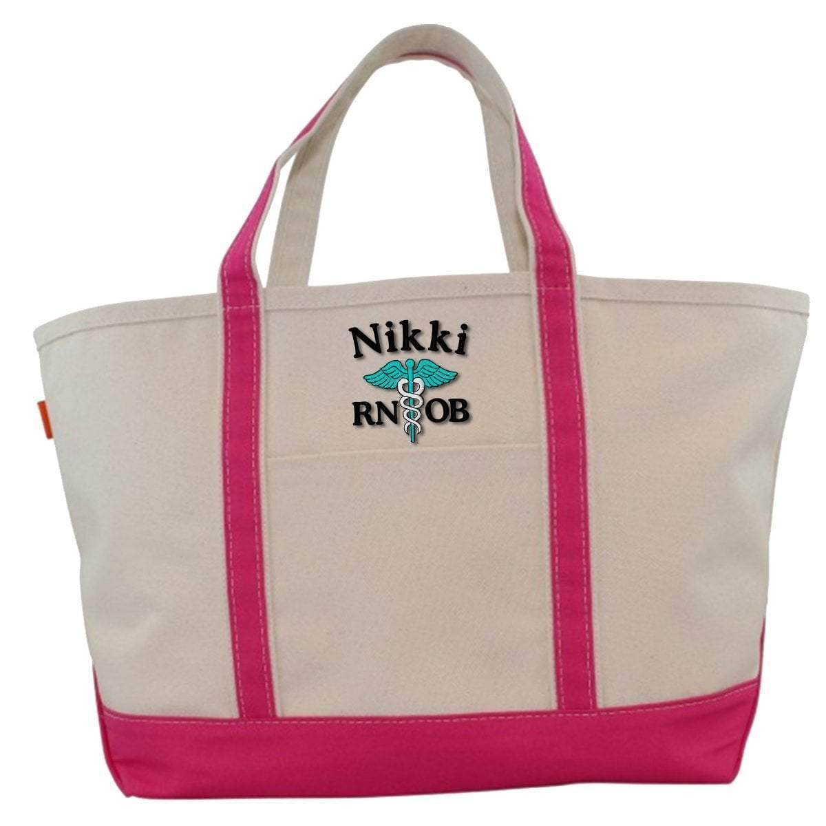 CB Station Bags Large Tote / Hot Pink 5020 | Customized Boat Tote from CB Station