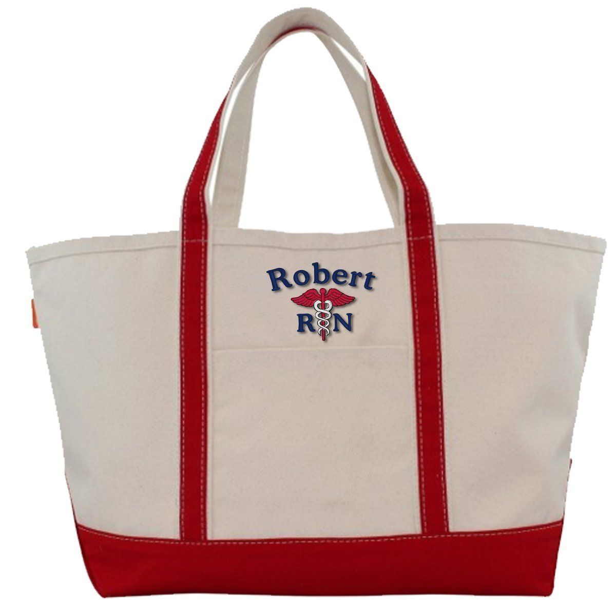 CB Station Bags Large Tote / Red 5020 | Customized Boat Tote from CB Station