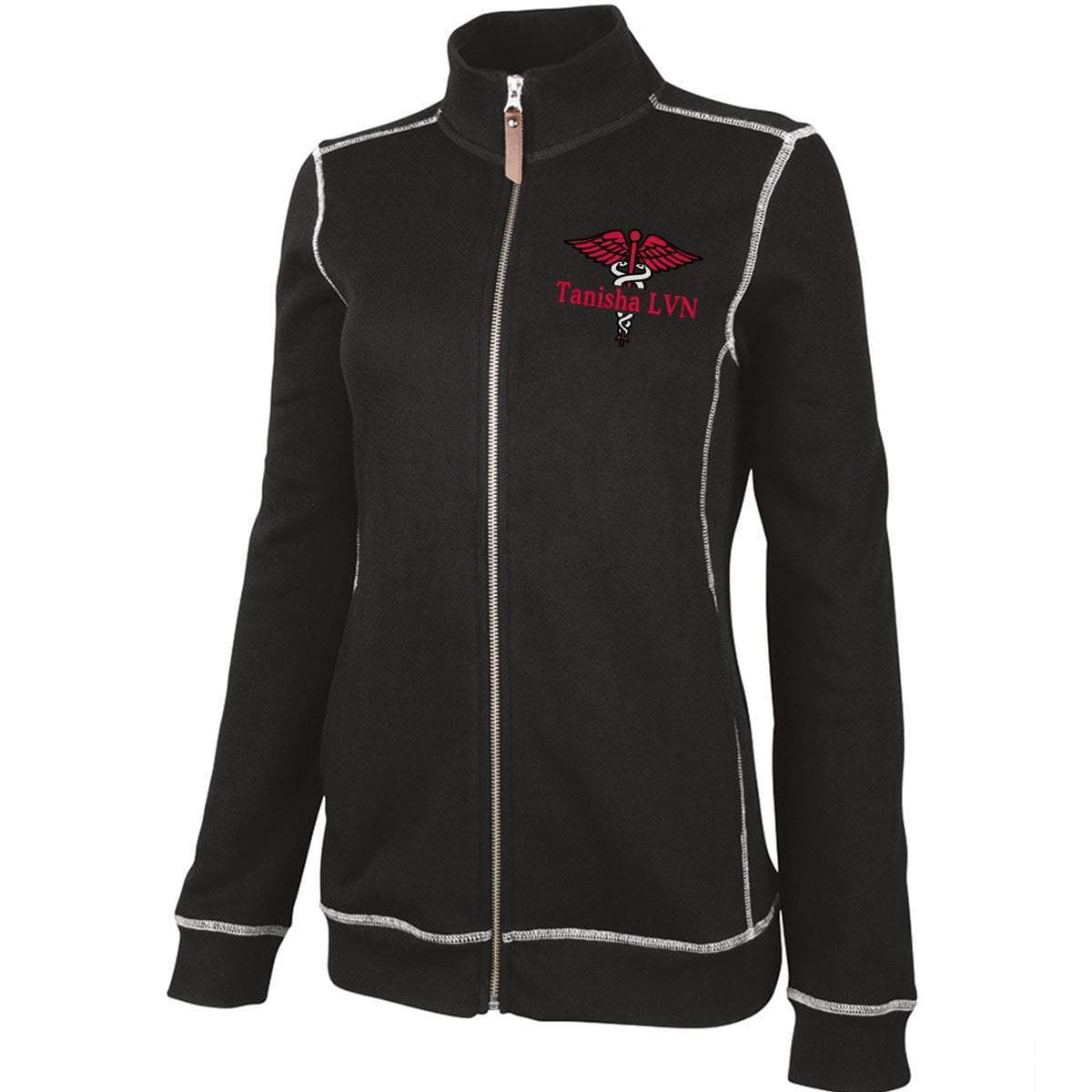 Charles River Apparel jacket Black / XS 5998 | WOMEN'S CONWAY FLATBACK RIB JACKET