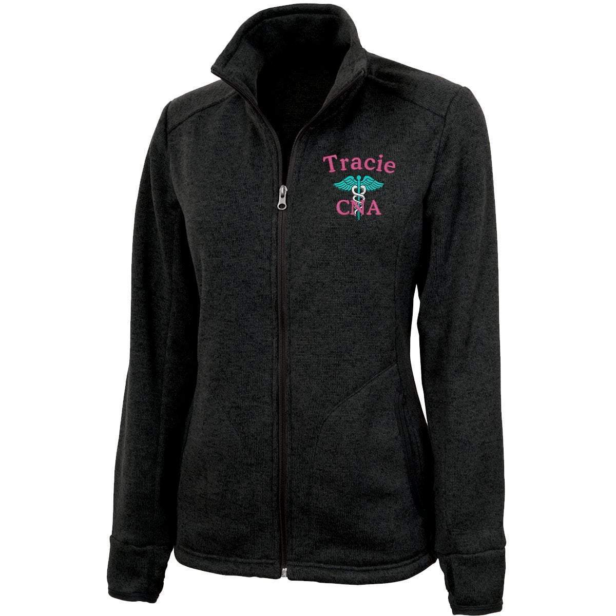 Charles River Apparel jackets Black Heather / XS 5493 |  Charles River Women's Heathered Fleece Jacket