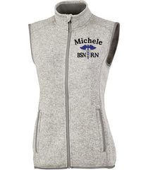 Charles River Apparel Vests Light Grey / XS 5722 | WOMEN'S PACIFIC HEATHERED VEST