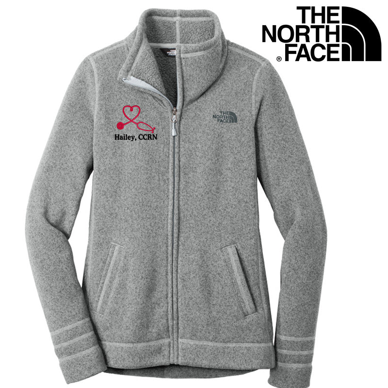 The North Face® Ladies Sweater Fleece Nurse Jacket | NF0A3LH8