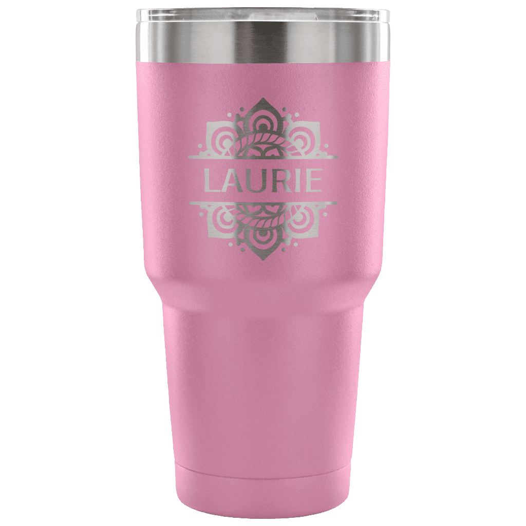 MacAttackGear Drinkware 30 Ounce Vacuum Tumbler - Light Purple Personalized 30oz Vacuum Tumbler