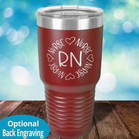 Personalized Laser Etched Tumblers for Nurses