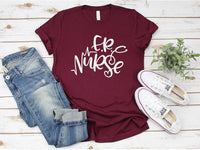 ER Nurse Tee Shirt | Adult Bella Canvas